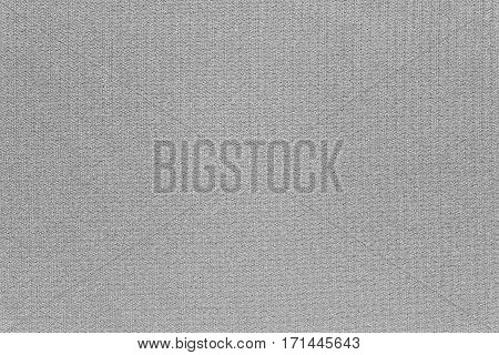 abstract texture and background of textile material or fabric of gray color
