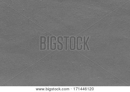 abstract background and texture of denim fabric or textile material of gray color