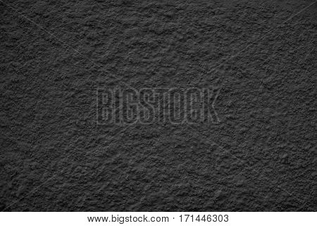 Black Dusty Scratchy Textured wall - Old vintage grunge background