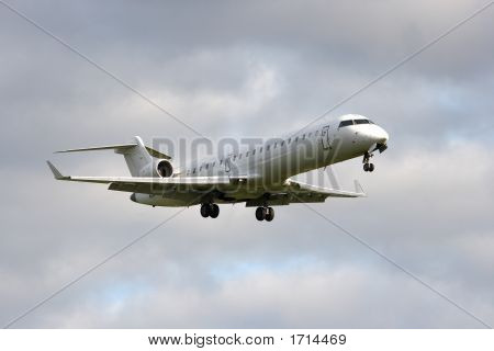 Commuter Jet Big Stock