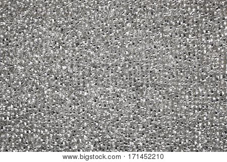 Metal cleaning wire scourer background