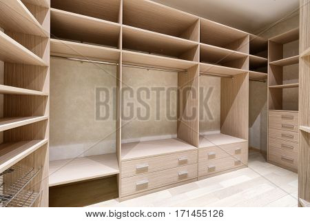 Russia,Moscow region - interior design dressing room in a luxury country house
