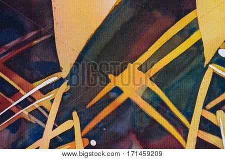 Abstraction, Fragment, Hot Batik