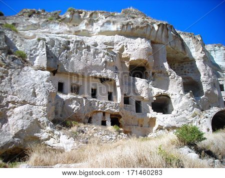 Cappadocia. Early christians dwelt in these dwellings.