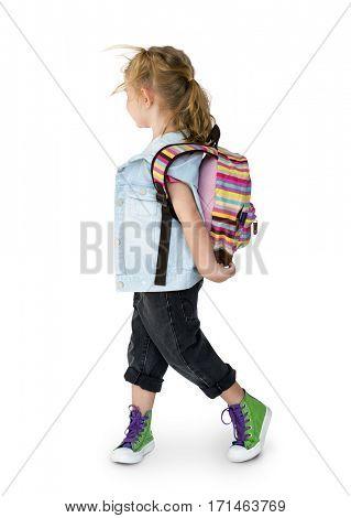 Child Kid Girl Cheerful Pleasure Enjoy Playful