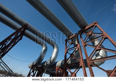 Industrial Thermal Insulation Pipe
