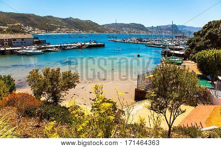 View of the Port of St.James South Africa