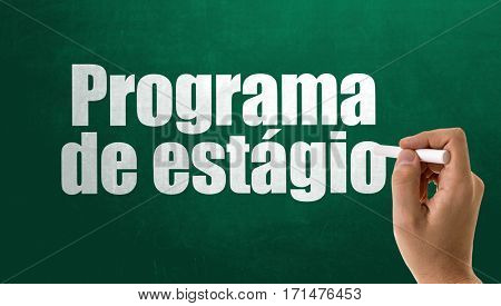 Internship Program (in Portuguese)