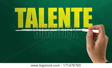Talent (in German)
