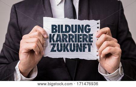 Education Career Future (in German)