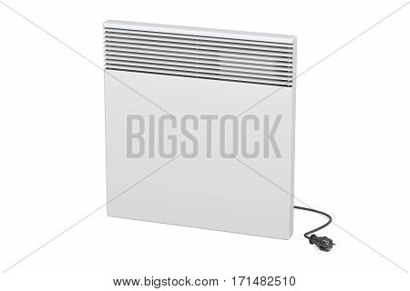 Convection heater 3D rendering isolated on white background