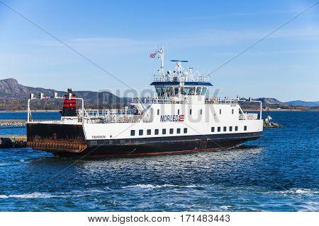 Ro-ro Ferry Ship Edoyfjord