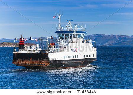 Ro-ro Ferry Ship Edoyfjord By Fjord1