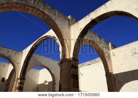 Ruins Of The Iglesia Conventual De San Buenaventura Church, Fuerteventura