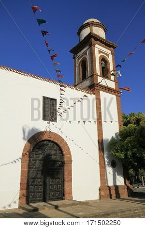 Church Of Our Lady Of Antigua In Fuerteventura