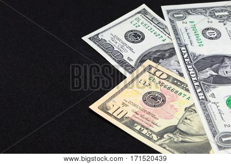 US dollar money for business and financial background