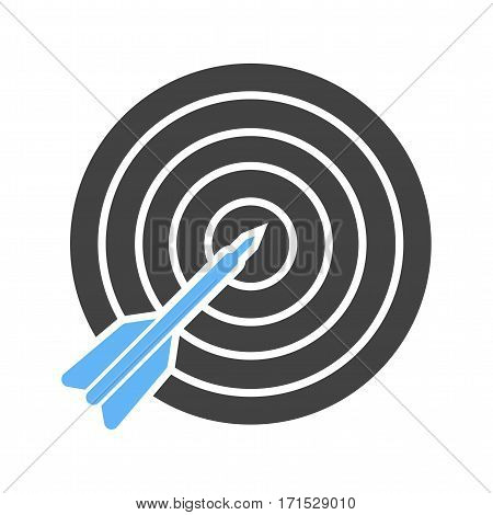 Dart, target, casino icon vector image. Can also be used for casino. Suitable for use on web apps, mobile apps and print media.