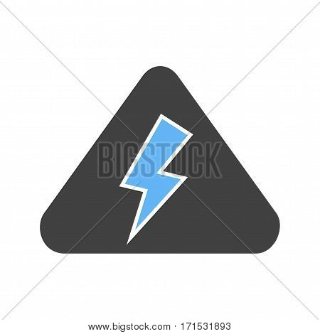 Fire, electric, short icon vector image. Can also be used for firefighting. Suitable for web apps, mobile apps and print media.