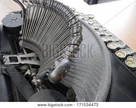 Old Antiquie Office Typewriter Machine