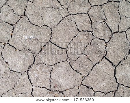 cracked soil texture, soil in dry season the effects of global warming