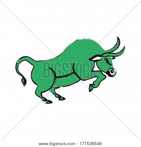 Bull Stock Market Vector Photo Free Trial Bigstock