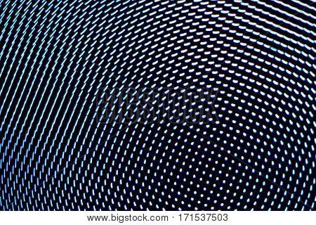 Motion Blur Background Blue Screen Technology.