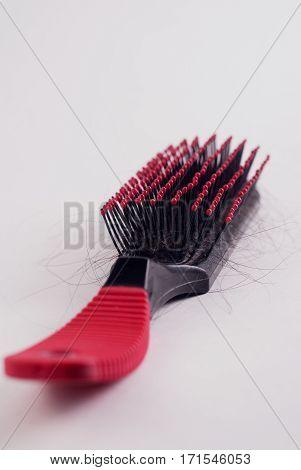 Fallen Hair Comb, Hair Comb Detail Fallen Head,