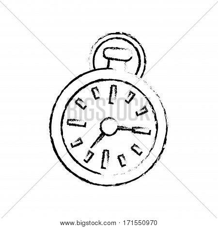 Sport timer chronometer icon vector illustration graphic design