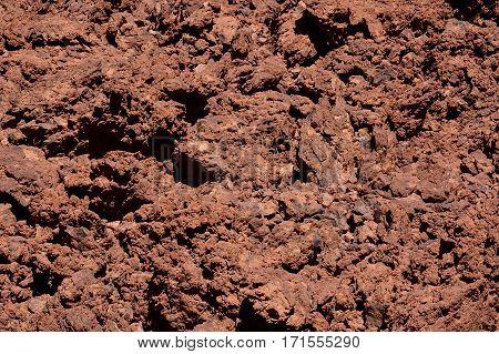 Dry Lava Texture Background