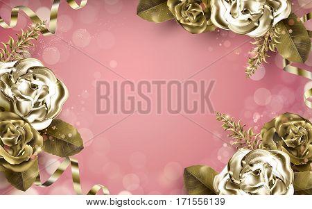Golden Rose Elements
