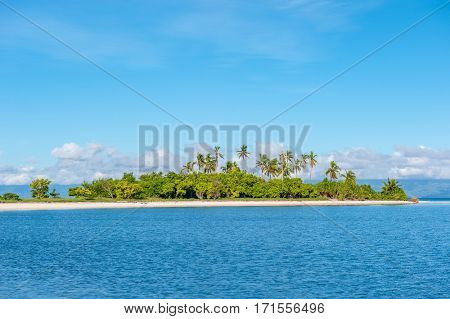 Beautiful tropical island at Philippines