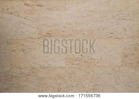 Closeup of the marble wall pattern and texture