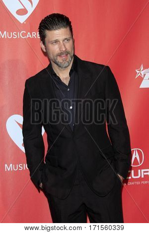 LOS ANGELES - FEB 10:  Greg Vaughan at the Musicares Person of the Year honoring Tom Petty at Los Angeles Convention Center on February 10, 2017 in Los Angeles, CA