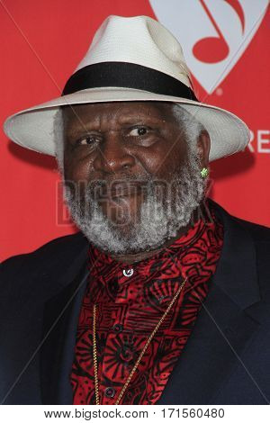 LOS ANGELES - FEB 10:  Taj Mahal at the Musicares Person of the Year honoring Tom Petty at Los Angeles Convention Center on February 10, 2017 in Los Angeles, CA