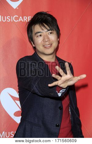 LOS ANGELES - FEB 10:  Lang Lang at the Musicares Person of the Year honoring Tom Petty at Los Angeles Convention Center on February 10, 2017 in Los Angeles, CA