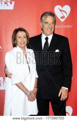 LOS ANGELES - FEB 10:  Nancy Pelosi, Paul Pelosi at the Musicares Person of the Year honoring Tom Petty at Los Angeles Convention Center on February 10, 2017 in Los Angeles, CA