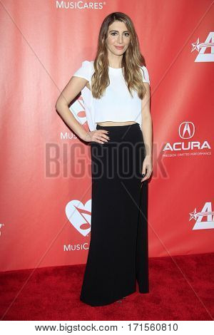 LOS ANGELES - FEB 10:  Nasim Pedrad at the Musicares Person of the Year honoring Tom Petty at Los Angeles Convention Center on February 10, 2017 in Los Angeles, CA