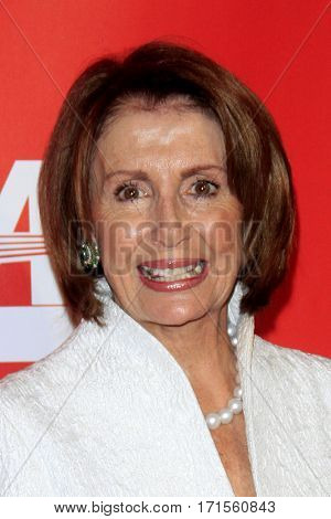 LOS ANGELES - FEB 10:  Nancy Pelosi at the Musicares Person of the Year honoring Tom Petty at Los Angeles Convention Center on February 10, 2017 in Los Angeles, CA