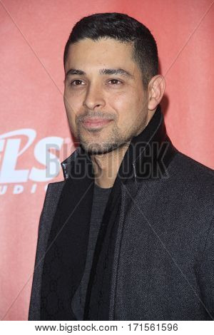 LOS ANGELES - FEB 10:  Wilmer Valderrama at the Musicares Person of the Year honoring Tom Petty at Los Angeles Convention Center on February 10, 2017 in Los Angeles, CA