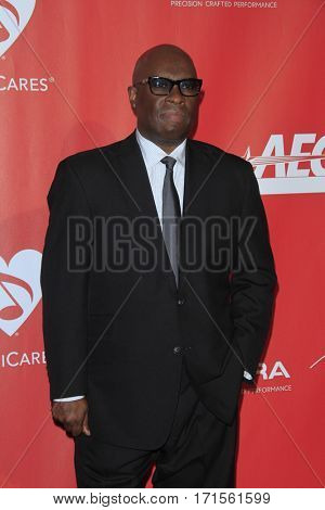 LOS ANGELES - FEB 10:  Vince Wilburn Jr at the Musicares Person of the Year honoring Tom Petty at Los Angeles Convention Center on February 10, 2017 in Los Angeles, CA