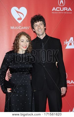 LOS ANGELES - FEB 10:  Regina Spektor, Jack Dishel at the Musicares Person of the Year honoring Tom Petty at Los Angeles Convention Center on February 10, 2017 in Los Angeles, CA