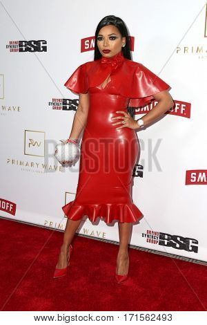 LOS ANGELES - FEB 11:  Shani James at the Primary Wave 11th Annual Pre-GRAMMY Party at The London on February 11, 2017 in West Hollywood, CA