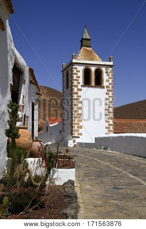 Cathedral Of Saint Mary Of Betancuria In Fuerteventura