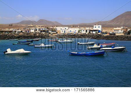 Fishing Boats In Port, Fuerteventura
