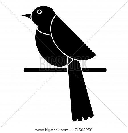 bird dove fauna fly icon pictogram vector illustration eps 10