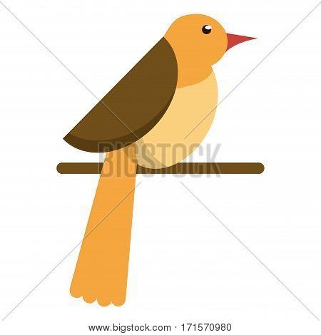 bird dove fauna fly icon vector illustration eps 10