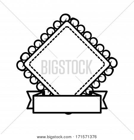 vintage label decorative frame banner vector illustration eps 10