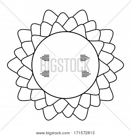 circle decorative frame geometric vector illustration eps 10