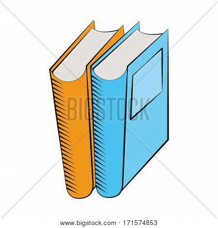 books library read learn vector illustration eps 10