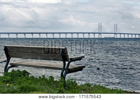 Oresund connects the Baltic Sea to the Atlantic Ocean and the North Sea. The Oresund Bridge is located between the Danish capital Copenhagen and the Swedish city of Malme.
